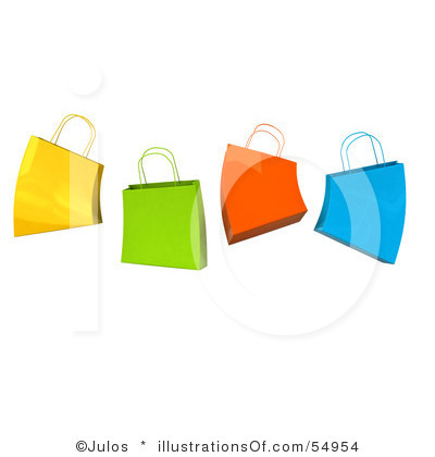 Shopping Bag Clipart.