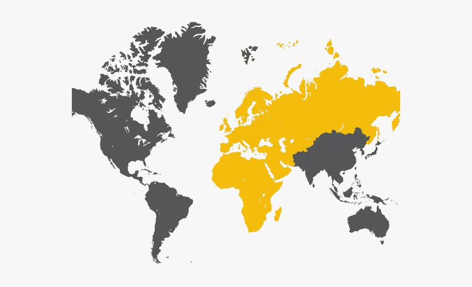 World Map Clipart Emea.