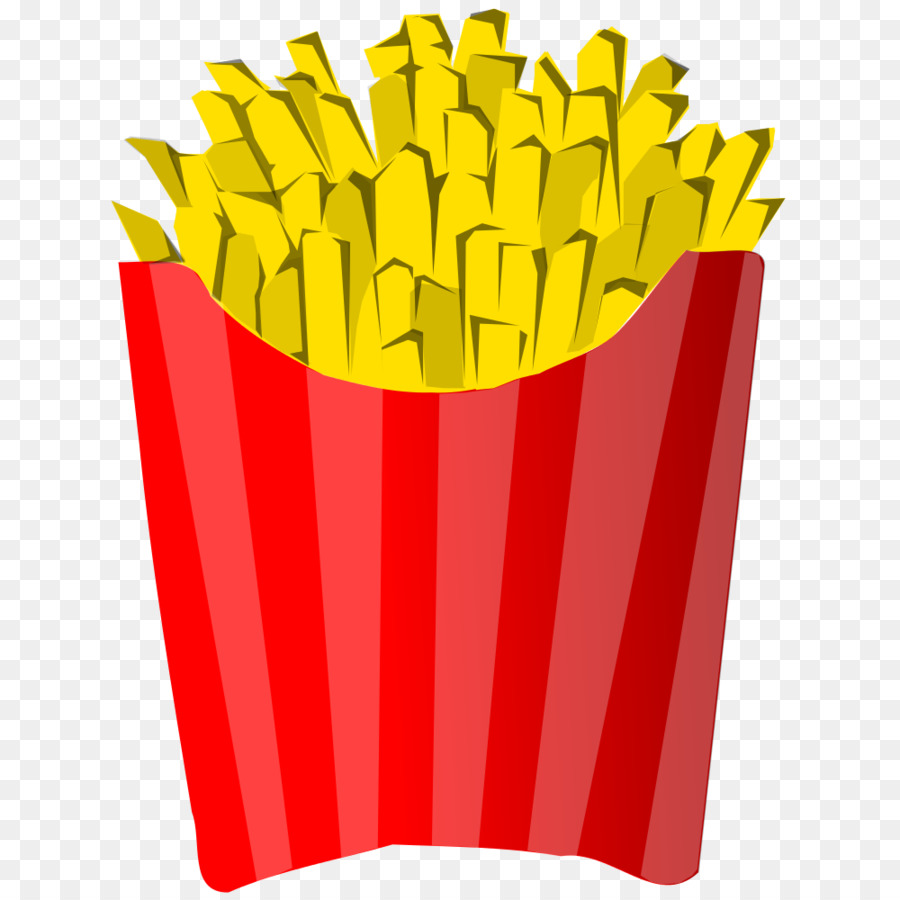 French Fries clipart.