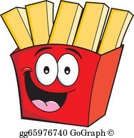 French Fries Clip Art.