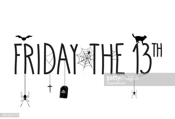 31 Friday The 13th Stock Illustrations, Clip art, Cartoons & Icons.