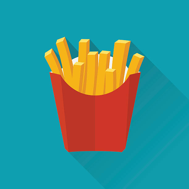 Best French Fries Illustrations, Royalty.