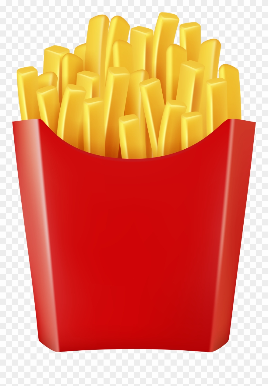 French Fries Transparent Image Clipart (#2644510).