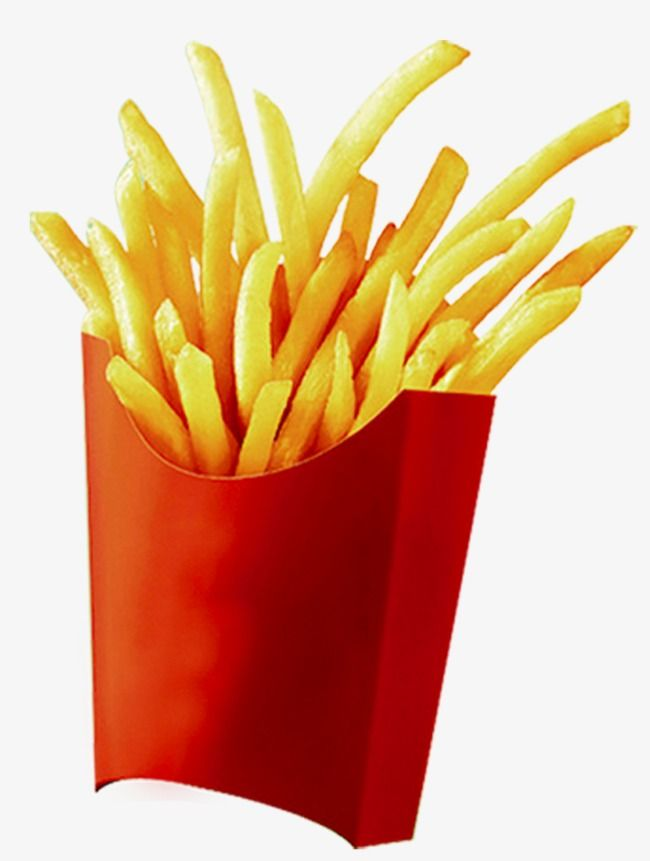French Fries, French Clipart, Fries Clipart PNG Transparent Image.