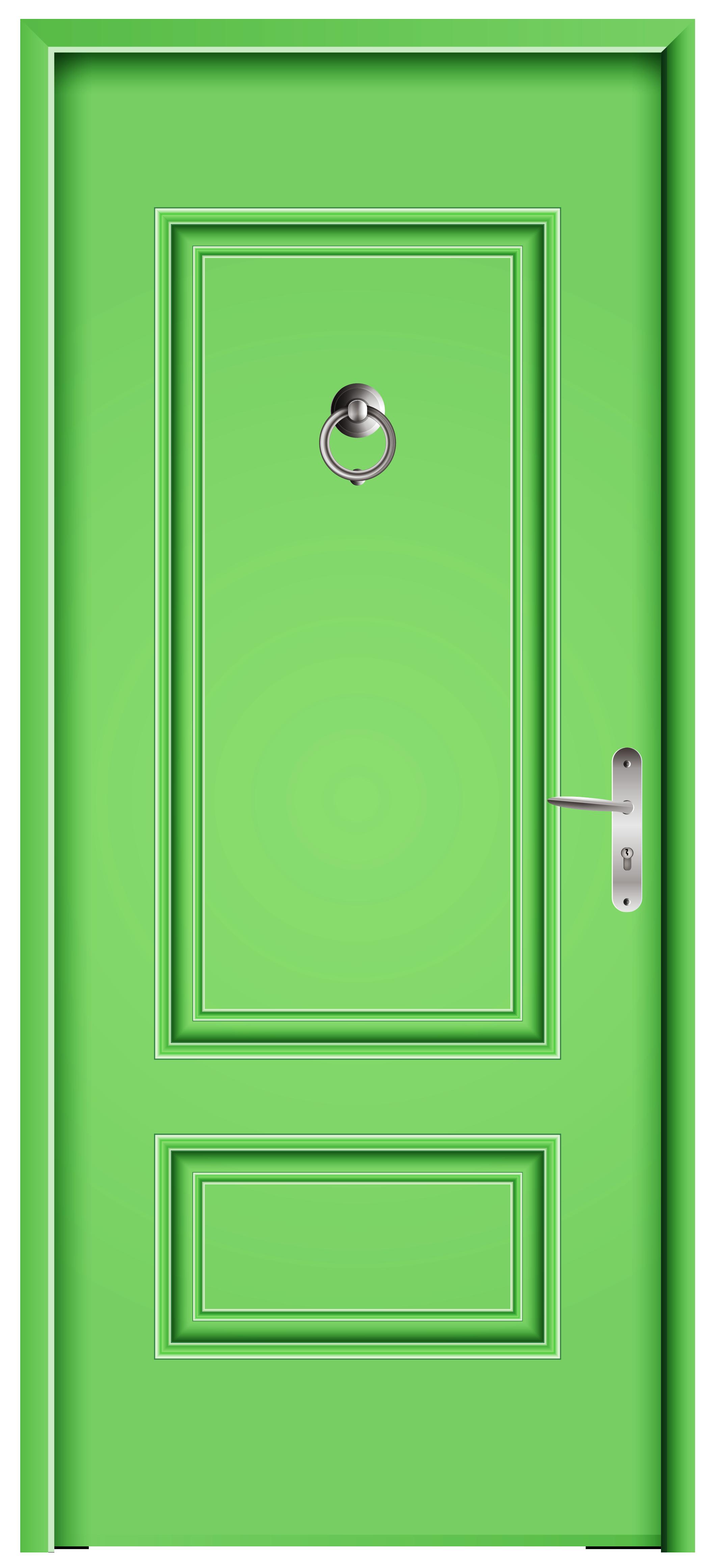 Front Door Green PNG Clip Art.