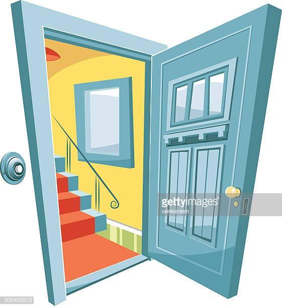 60 Top Front Door Stock Illustrations, Clip art, Cartoons, & Icons.