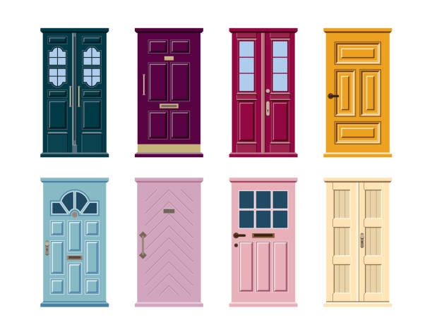 Best Front Door Illustrations, Royalty.