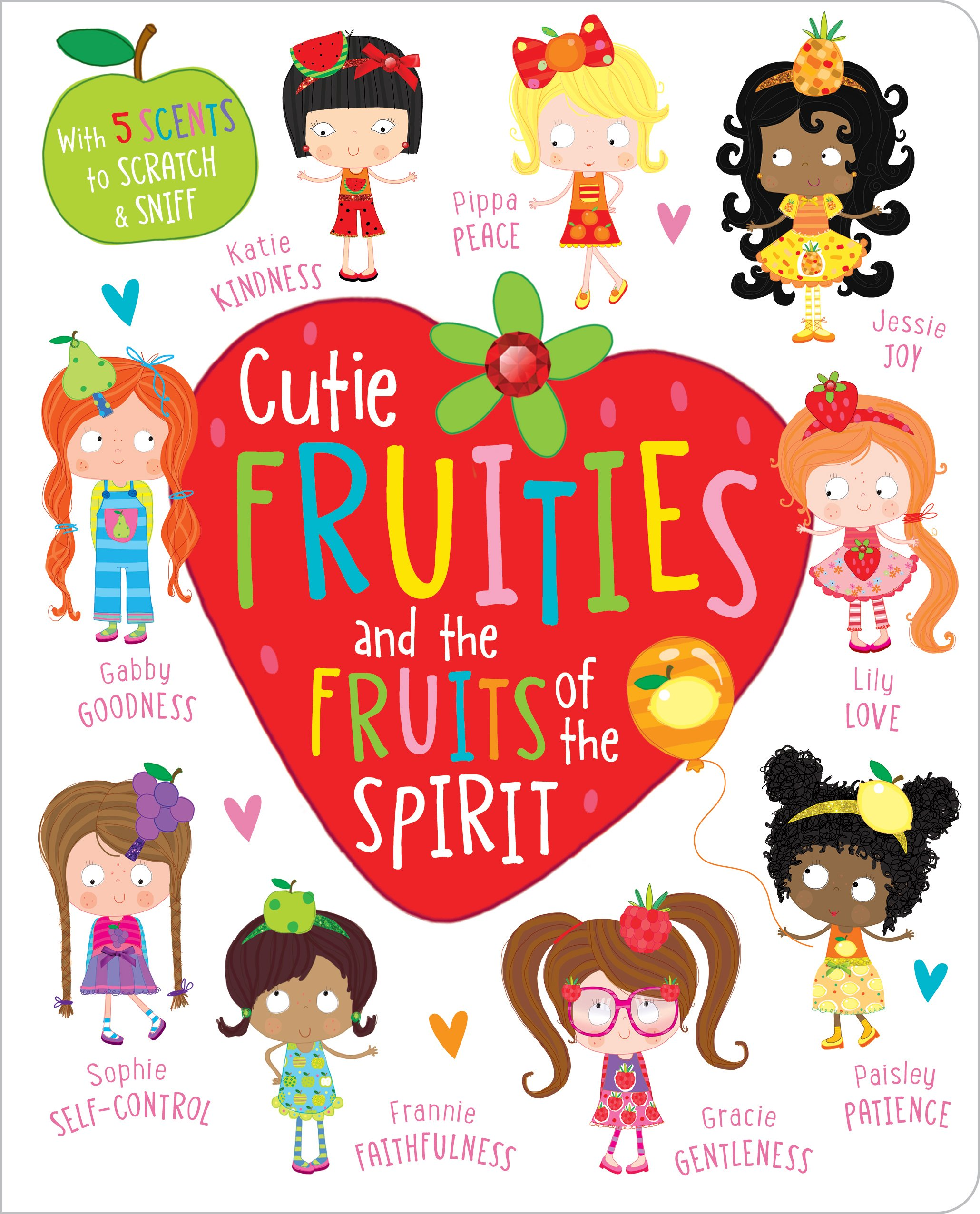 Cutie Fruities and the Fruit of the Spirit: 9781788930024: Amazon.