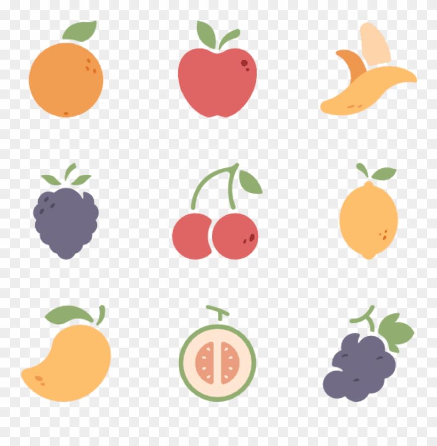 Fruit Icons Free Fruits.
