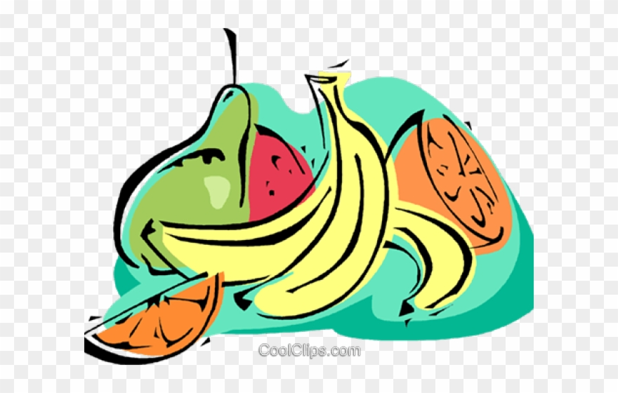 Banana Clipart Frutas.