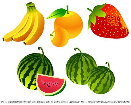 Imágenes clip art y gráficos vectoriales Vector libre fruta.