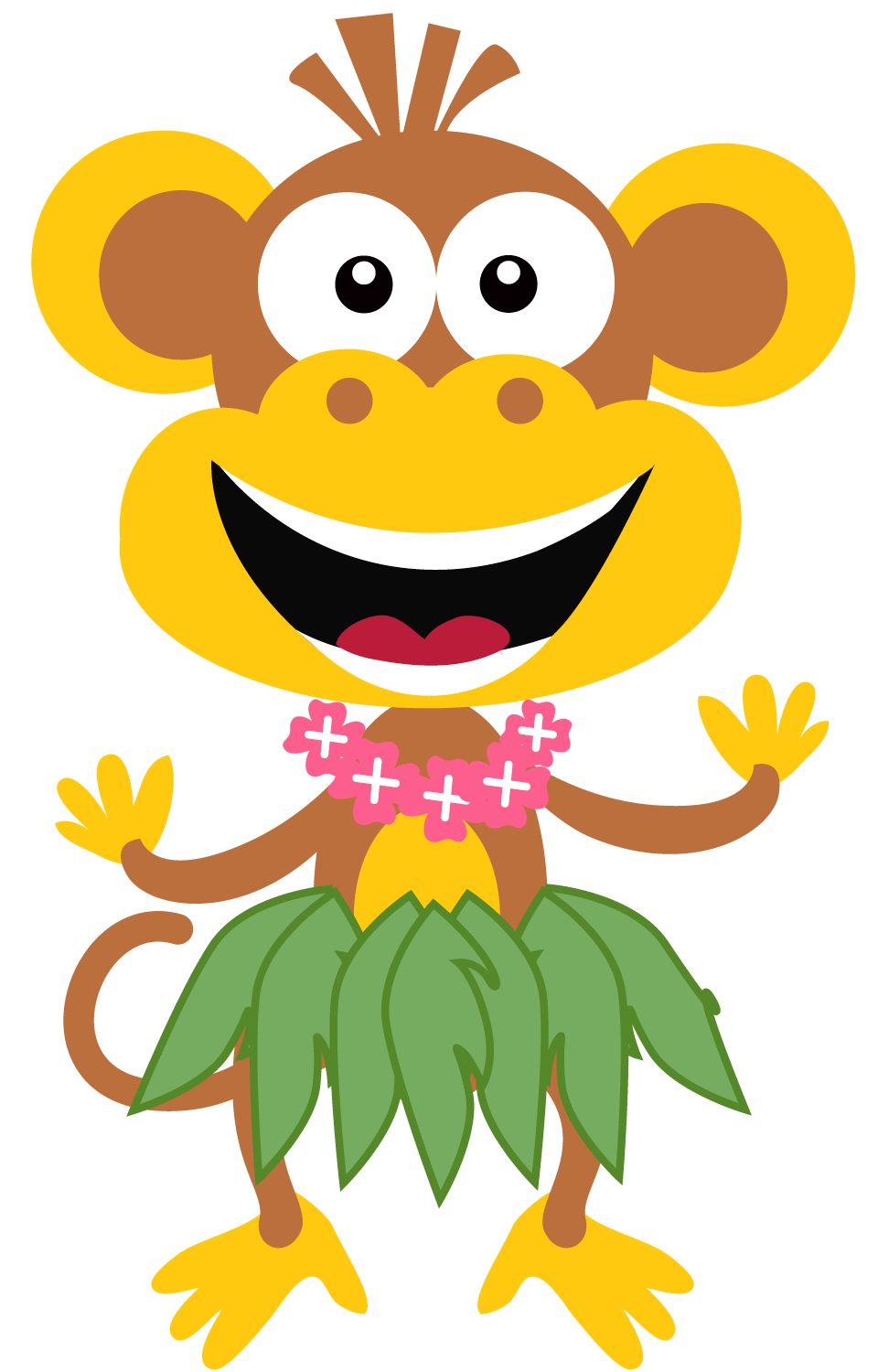 Silly summer fun free clipart.