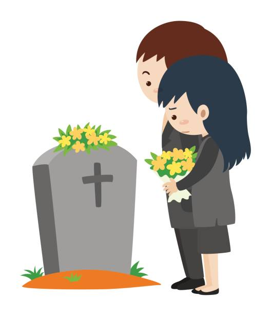 Best Clip Art Of A Funeral Illustrations, Royalty.