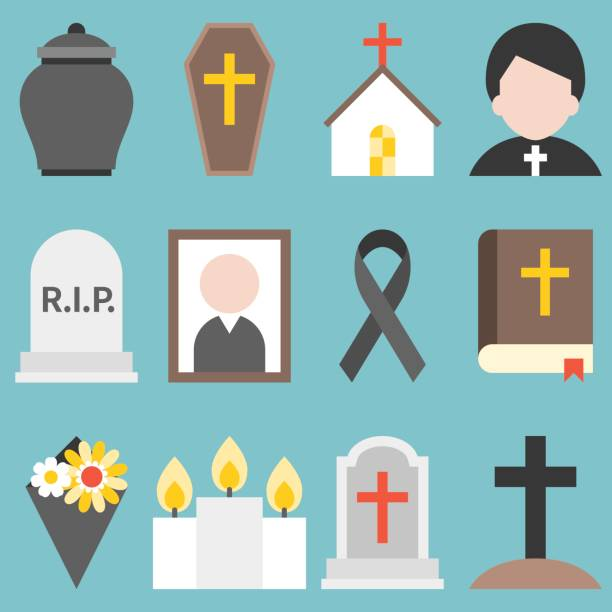 Best Funeral Home Illustrations, Royalty.
