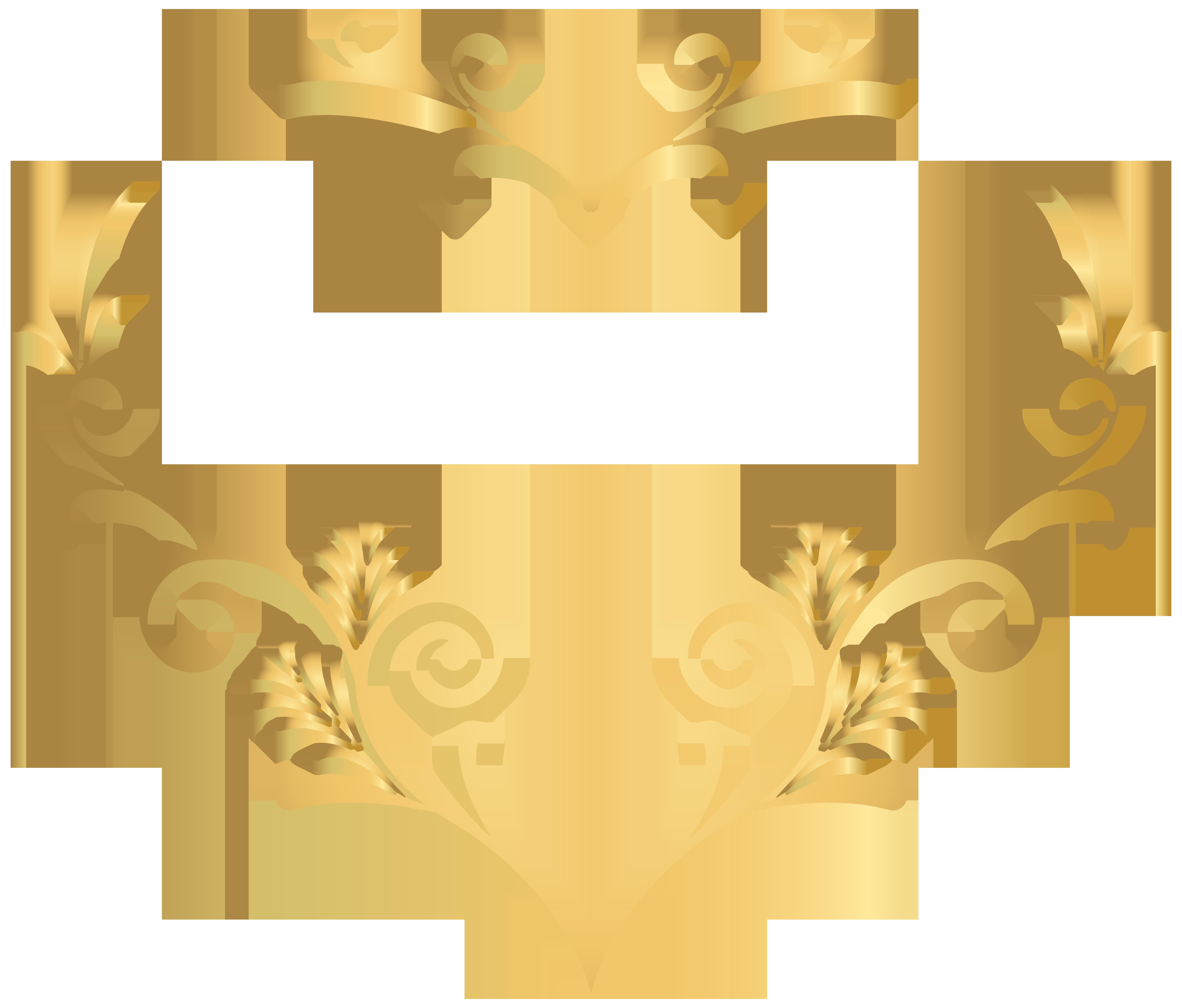 Decorative Heart PNG Clip Art Image.