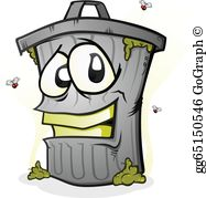 Garbage Can Clip Art.