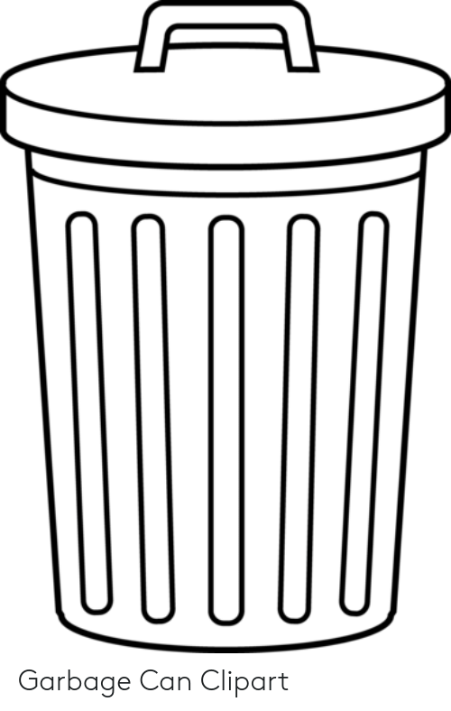 Garbage Can Clipart.