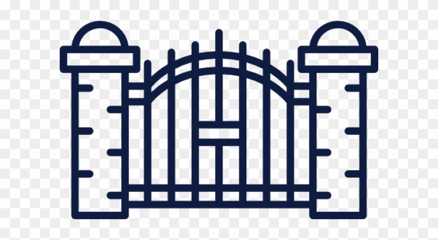 Gate Clipart Cemetery Gates.