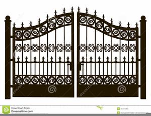 Gate Clipart Free.