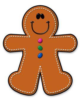 FREEBIE Gingerbread Boy.