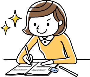 Girl Doing Homework Clipart 94591.