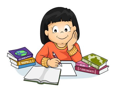 387 Doing Homework Cliparts, Stock Vector And Royalty Free Doing.
