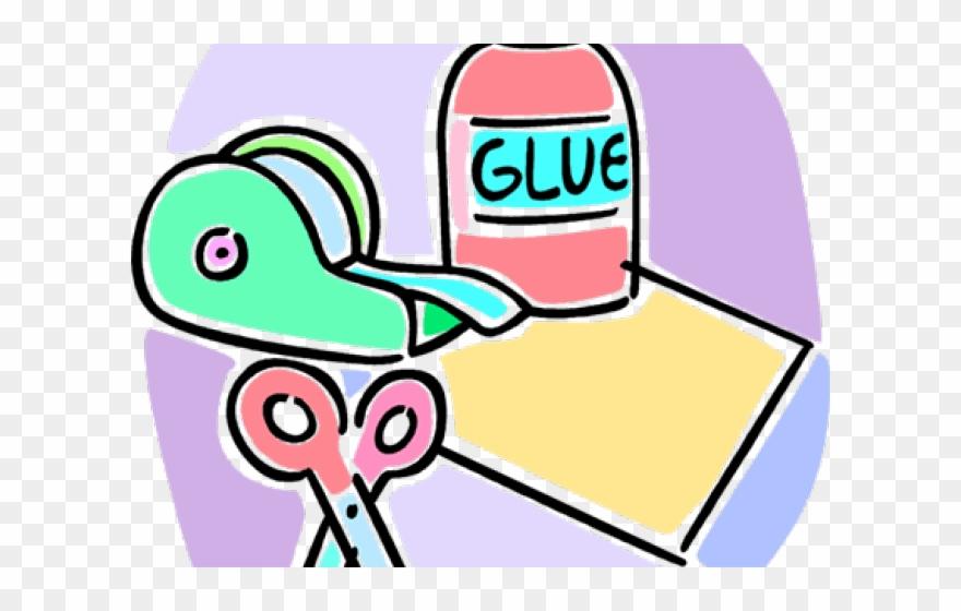 Scissor Clipart Glue.