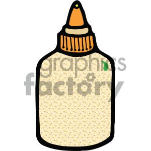 glue bottle image clipart. Royalty.