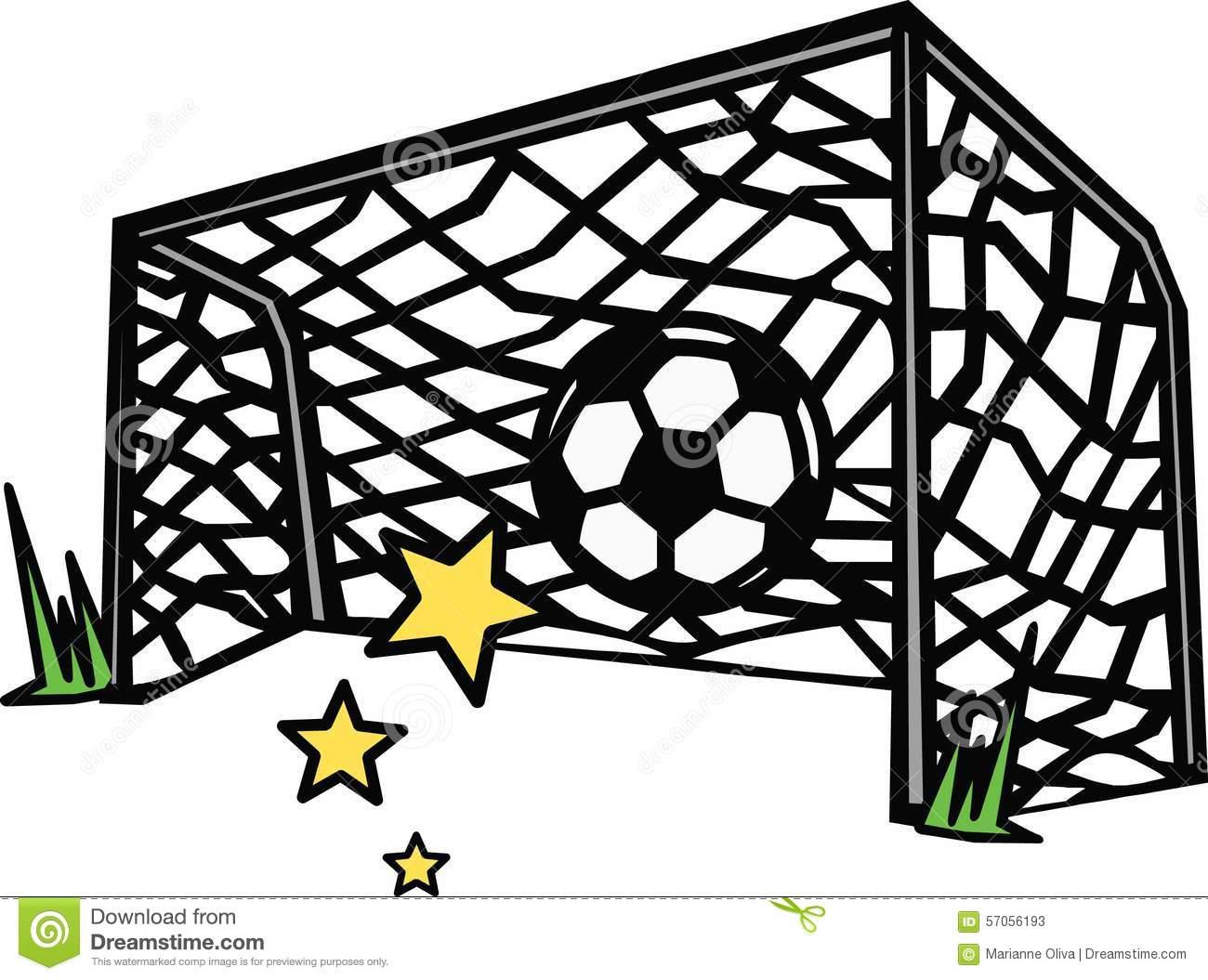 88+ Soccer Goal Clipart.