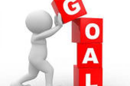 Reaching Goals Clipart.