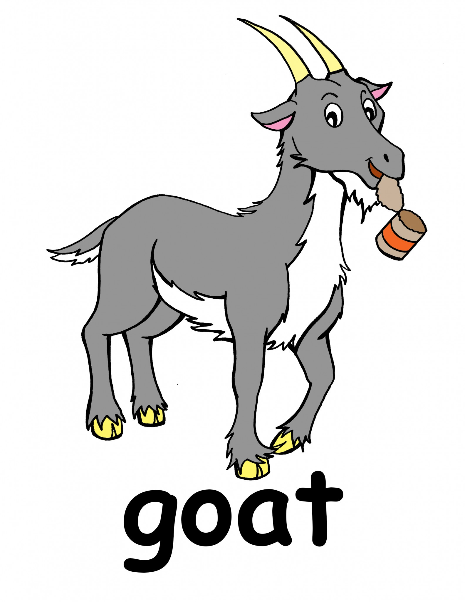 Clip art goat clipart collection.