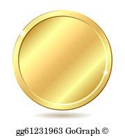 Gold Coin Clip Art.