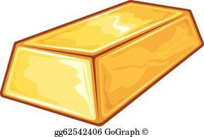 Gold Bar Clip Art.