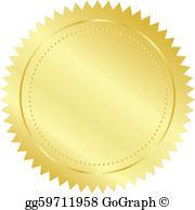 Gold Seal Clip Art.