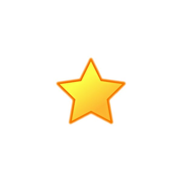 Free Gold Star Clipart.
