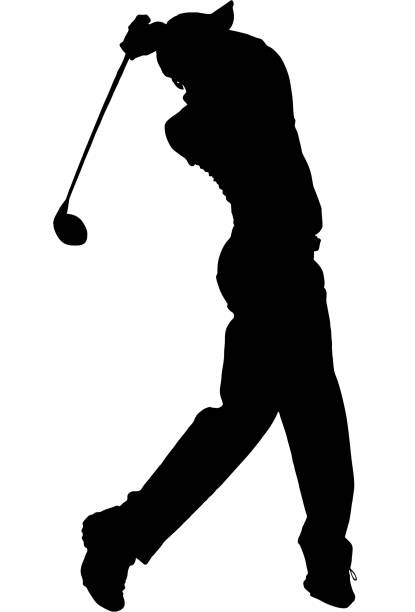 Best Golfer Illustrations, Royalty.