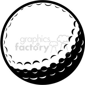 Golf ball clipart. Royalty.
