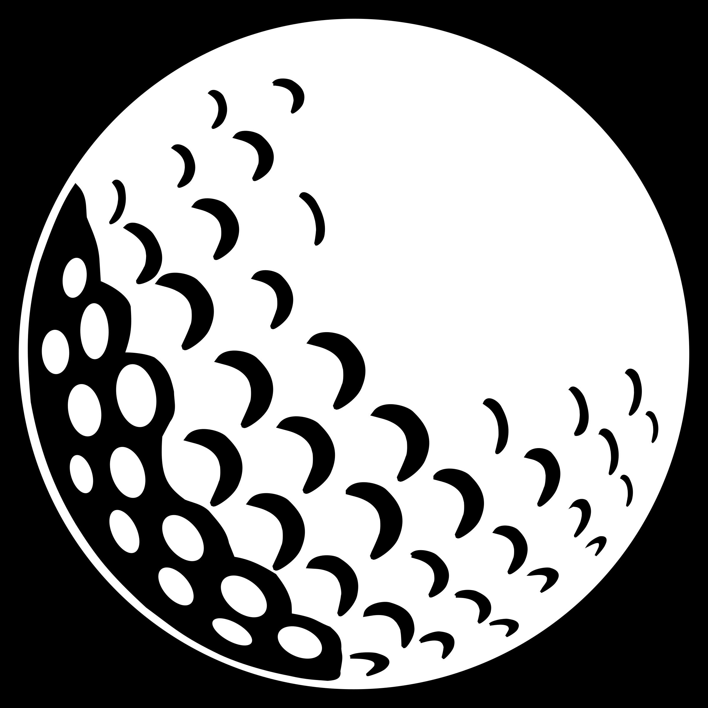 50+ Golf Ball Clipart.
