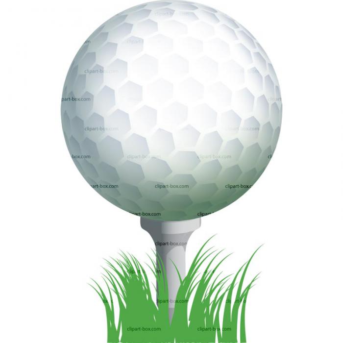 Clip Art Golf Ball On Tee Kid.jpg X Vector, Clipart, PSD.