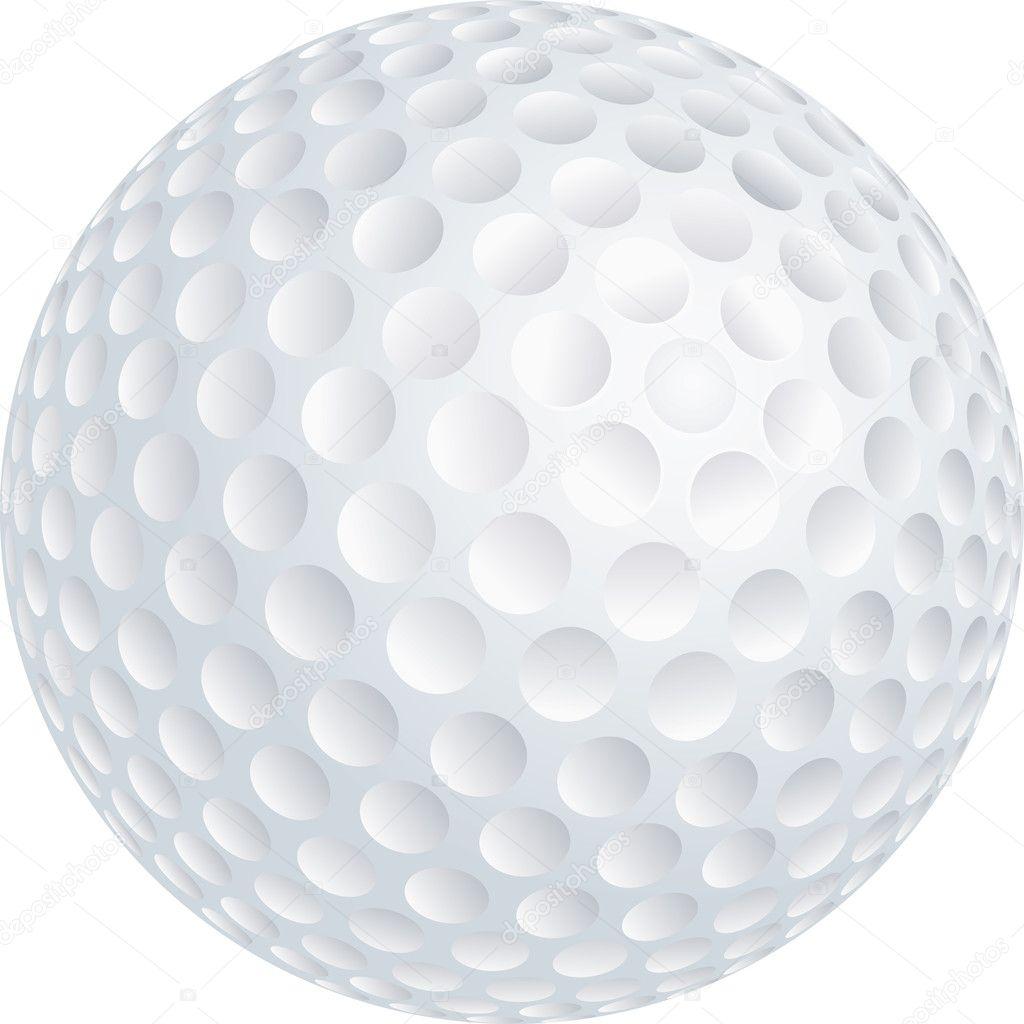 Clipart: golf ball.