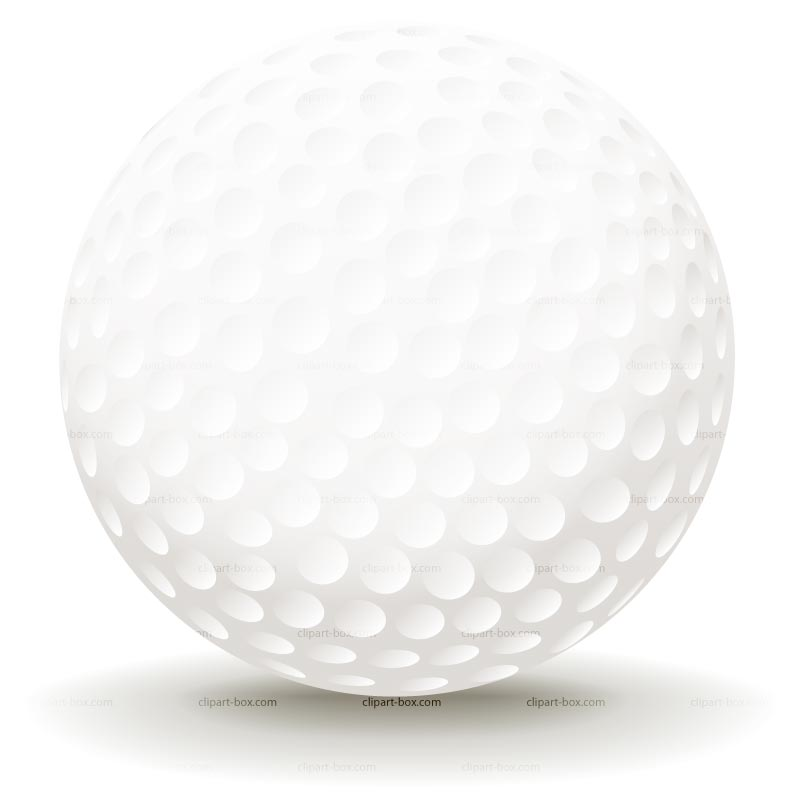Golf ball picture clipart.