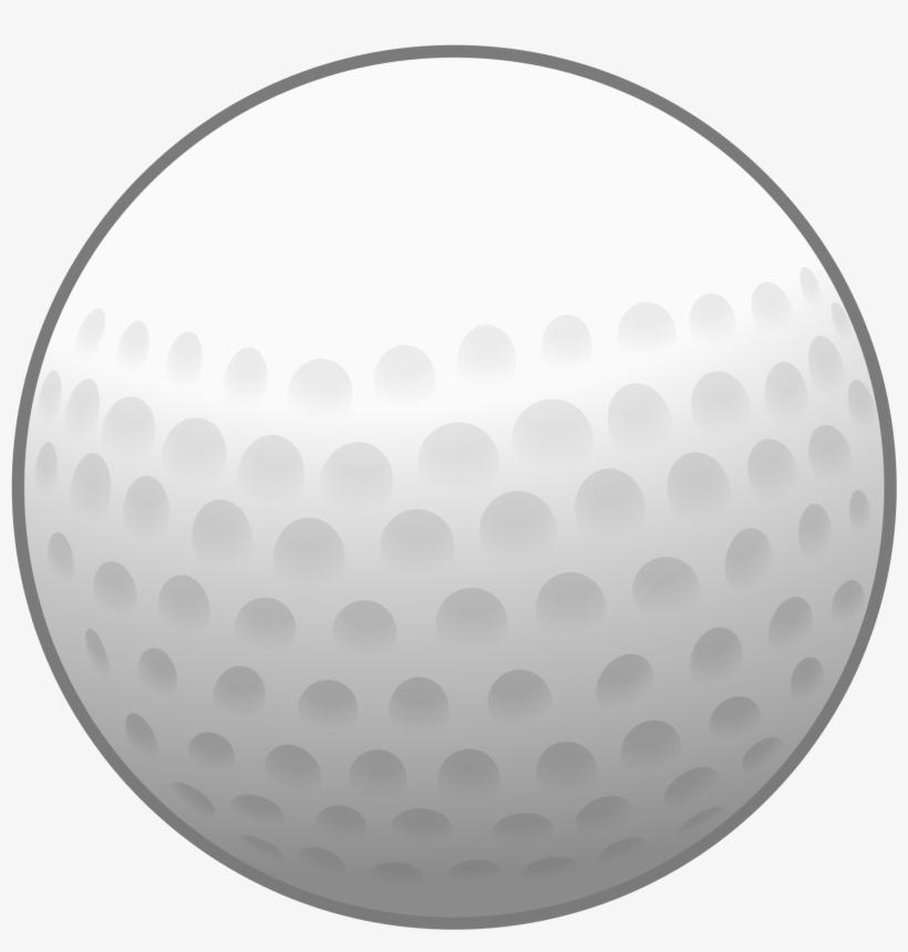 Golf Ball Clipart Border.
