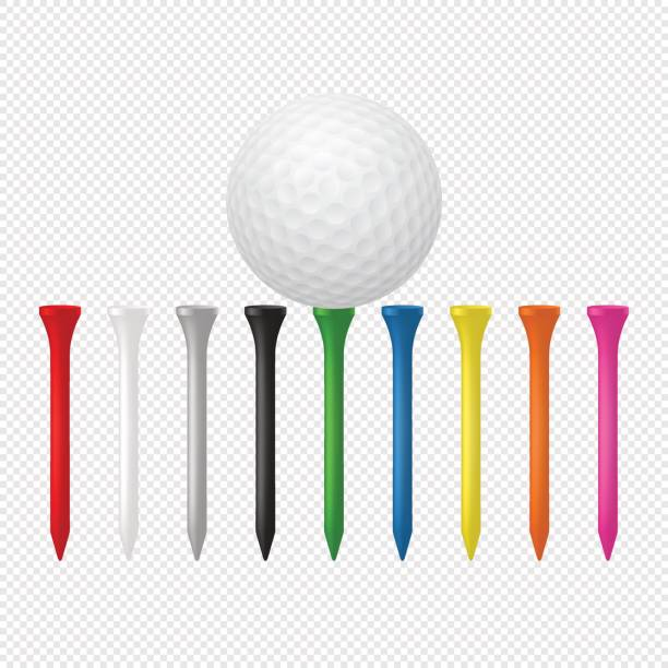 Best Golf Tee Illustrations, Royalty.