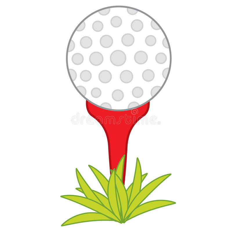Ball Clipart Golf Tee Stock Illustrations.