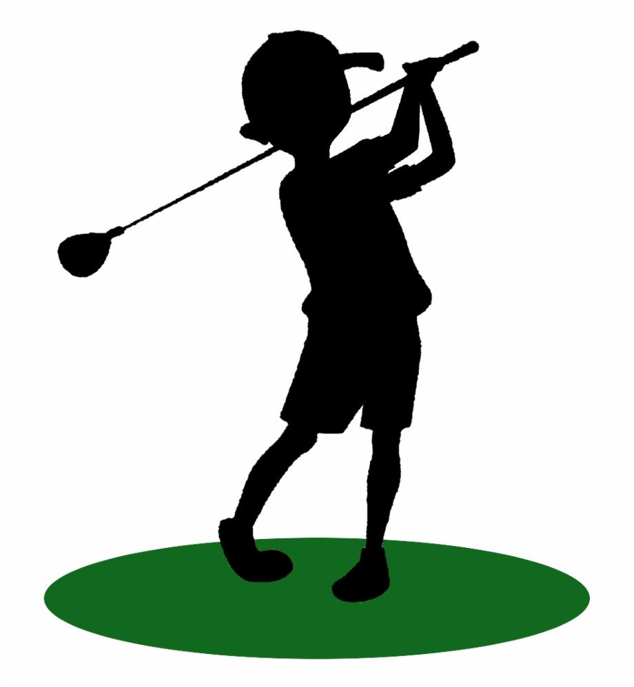 Guy Clipart Golfing.
