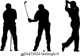 Golfer Clip Art.
