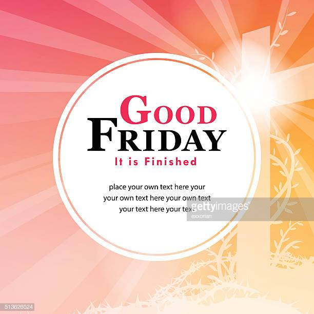 60 Top Good Friday Stock Illustrations, Clip art, Cartoons, & Icons.