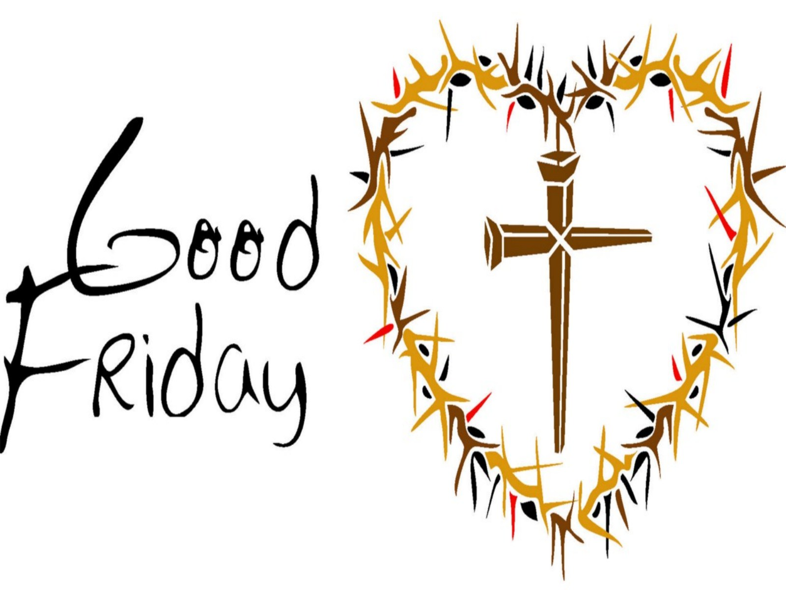 Good friday 7 clipart collection.