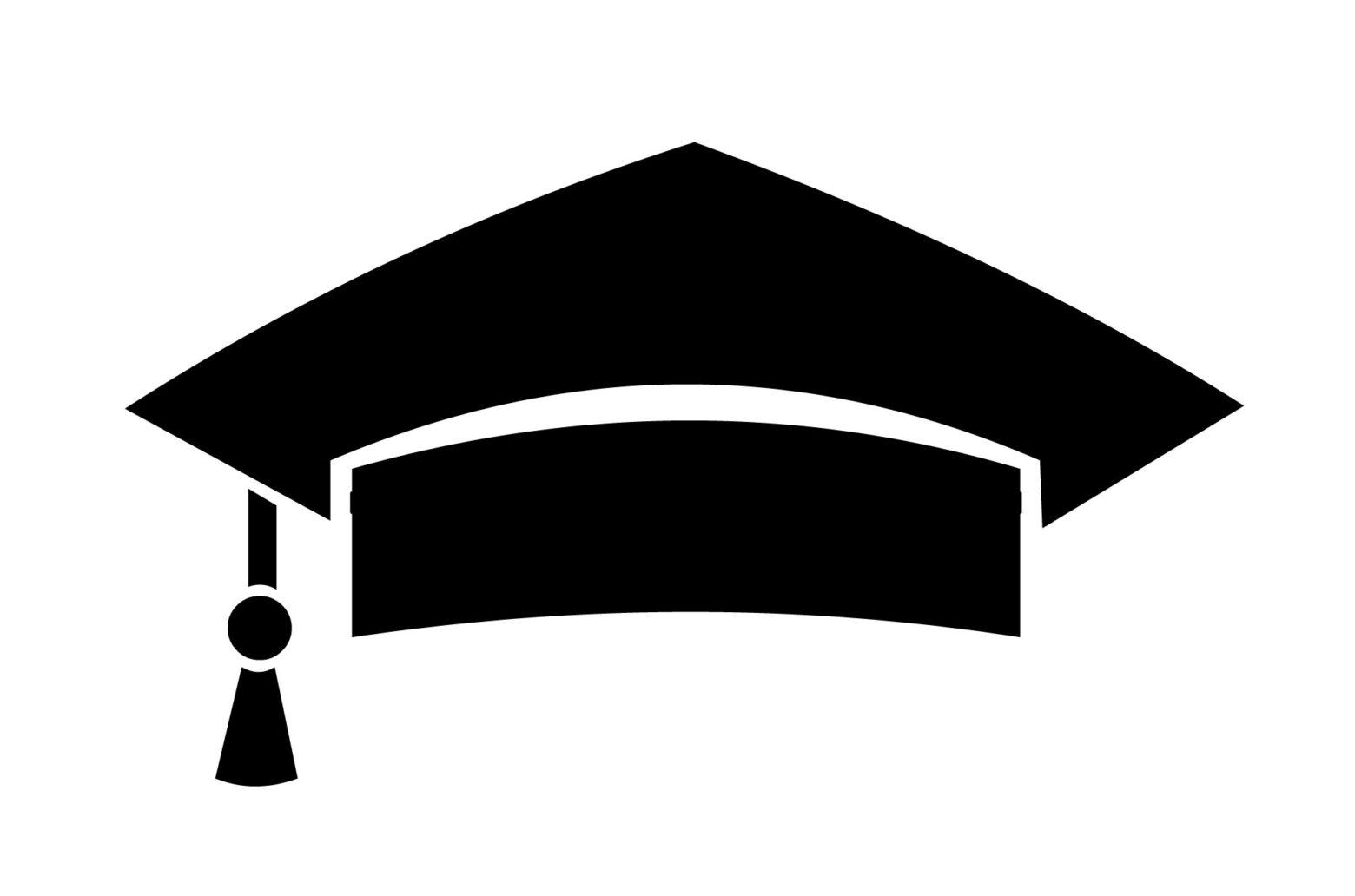 Education hat graduation cap icon.
