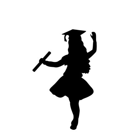5,743 Graduate Girl Cliparts, Stock Vector And Royalty Free Graduate.
